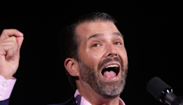 Donald Trump Jr. mocked men he alleged were undercover law enforcement officers who attended the failed 'Justice for J6' rally