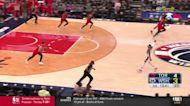 Bradley Beal with an assist vs the Toronto Raptors