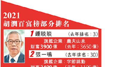 中國富豪榜十大首度無房企