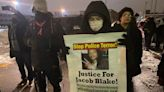 Kenosha residents frustrated by police's heavy handed response in the Jacob Blake case while a pro-Trump mob rampaged through the U.S. Capitol
