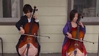 Ohio siblings play cello for self-quarantined elderly neighbor