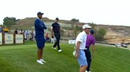 Tiger Woods and Justin Thomas squeak out a victory at Payne's Valley Cup