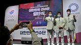 South Korean athletes enjoy food delivery service after radiation screening