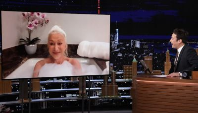 Only Helen Mirren Could Pull Off A Bathtub Interview