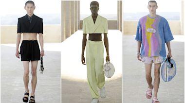 時尚|FENDI搞「半套」增色米蘭男裝周 廢包掛頸上是新潮 | 蘋果新聞網 | 蘋果日報