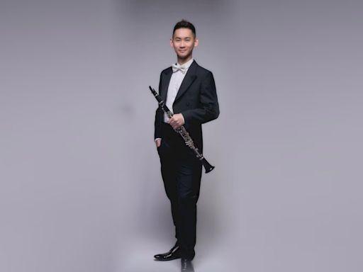 賴俊諺獲法國藍瑟勒單簧管大賽首獎及最佳觀眾獎 不忘秀台灣口罩