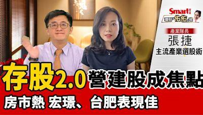 影片》存股2.0!營建股、資產股成新主流,宏璟、台肥股價表現佳