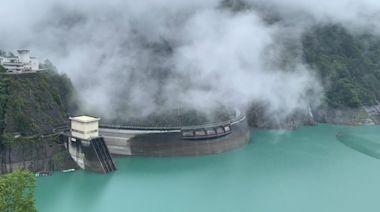 曾文水庫增加調節性放水 德基水庫全力蓄水
