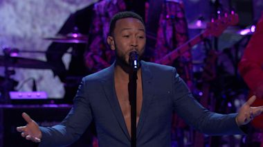 "John Legend ""Nothing Compares 2 U"": The GRAMMY Salute To Prince"