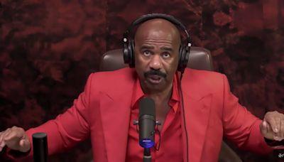 Steve Harvey Jokes About Michael B. Jordan's Valentine's Date With Lori Harvey and 'Sexiest Man Alive' Status