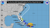 Tropical Storm Isaias crossing Dominican Republic with South Florida still in cone