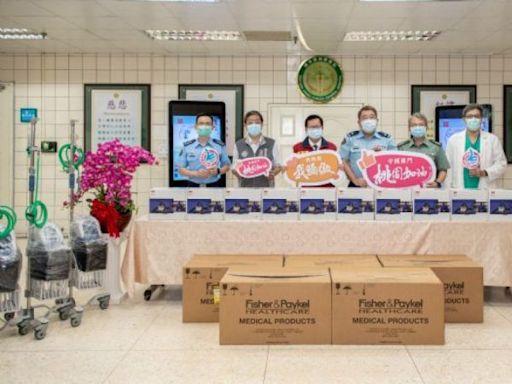桃市府致贈20組HFNC及PAPR 慰勞國軍桃園總醫院全體人員 | 台灣好新聞 TaiwanHot.net