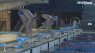 率全台之先! 北市全運會游泳選手開訓