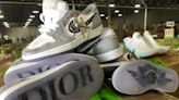 $4.3M in Fake Shoes Including Counterfeit Dior x Air Jordan 1s Seized in Texas