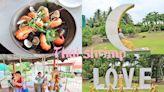 【屏東景點】黃金泰國蝦餐廳打造兒童樂園,旋轉木馬、小火車,大小孩玩翻天~