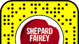 Snapchat's AR brings to life work of 'Hope' poster maker Shepard Fairey and other artists