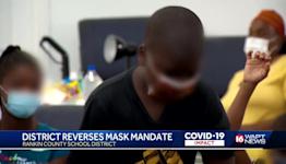District reverses mask mandate