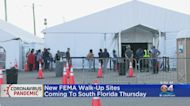 Miami-Dade's FEMA-Funded COVID Vaccination Satellite Sites Moving