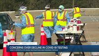 Concerns over decline in COVID-19 testing