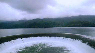 南化水庫今年第三度滿庫溢流