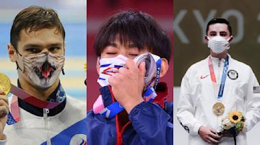 金牌泳將「戴貓咪口罩」站上頒獎台!東京奧運爆紅口罩還有這些 - 玩咖Playing - 自由電子報