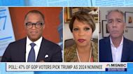 Former Republicans Sophia Nelson and Joe Walsh join host Jonathan Capehart to discuss Trump's continued stranglehold on the GOP.