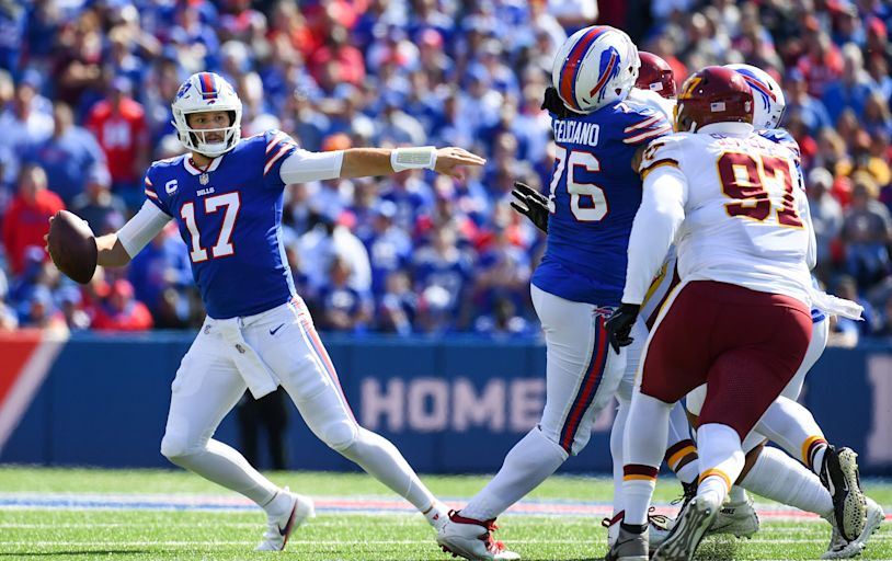 5 takeaways from the Bills' 43-21 win over the Washington Football Team