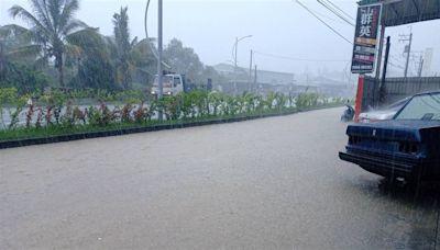 大雨特報雨炸南台灣!國家警報大響 高雄列一級淹水警戒