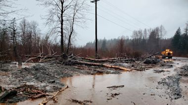 6 people are missing after a mudslide swept through a neighborhood in Alaska