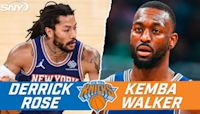 NBA Insider on Derrick Rose vs. Kemba Walker at PG, RJ Barrett becoming two-way player | Ian Begley