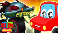 Kids Car Cartoon Shows | Street Vehicles | Cars & Trucks Stories | Vehicle Videos for Babies