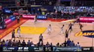 Draymond Green with a 2-pointer vs the Memphis Grizzlies