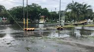 Storm Zeta Downs Power Lines, Traffic Lights in Cozumel