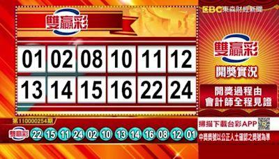 10/23 雙贏彩、今彩539 開獎囉!