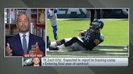 Garafolo: Ertz expected to report to Eagles camp, future in Philly still unclear