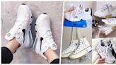 台灣爆話題:2020爆款排行更新!燃火級最高→『厚磅系白鞋TOP 7』,一踩激升6CM!