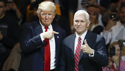 Trump will only maintain his 'good relationship' with Pence for so long, insiders say