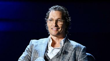 Fans think Matthew McConaughey's 12-year-old son looks just like him in this photo