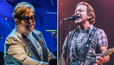 """Song of the Week: Elton John and Eddie Vedder Go for a Wild Ride with """"E-Ticket"""""""