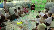 Myanmar's upcycling monk tackling plastic waste