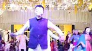 Wedding guests in Pakistan perform 'Money Heist' party dance