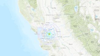 Earthquake and aftershock shake San Jose area