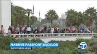 Hundreds line up outside Westwood passport office amid massive backlog