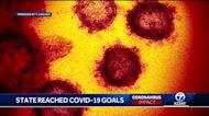 New Mexico reaches COVID-19 goals