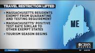 Maine Removes Coronavirus Travel Restrictions For Massachusetts
