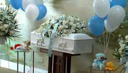 Police hold funeral for 2 newborn boys found dead in the Bronx