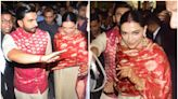 Ranveer Singh Has a Protective Arm Around Wife Deepika Padukone in These Airport Pictures