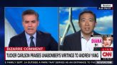 Jim Acosta to Andrew Yang: What the Hell Were You Doing on 'Tucker Carlson'?