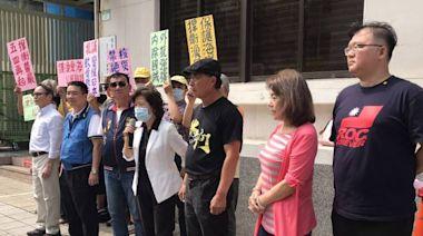 憂日本排放核廢水影響生計 漁民團體赴立院抗議