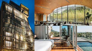 【新開店】「台版太宰府星巴克」這拍!超狂「樹洞房」打卡旅宿,7大房型可看頂樓海景